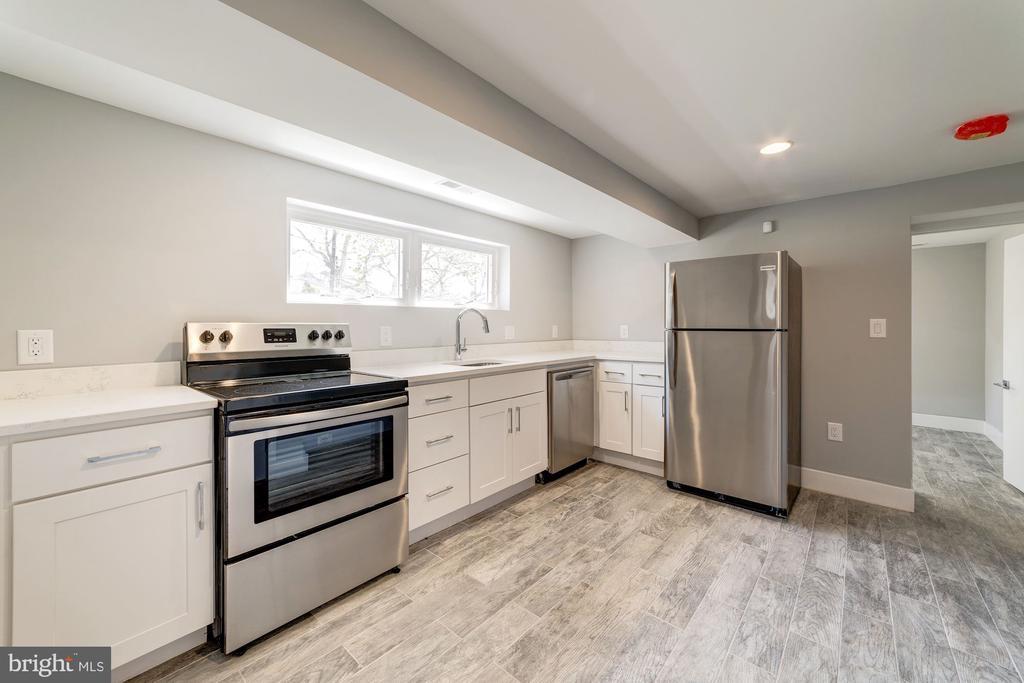 Basement Kitchen - 2620 6TH ST NE, WASHINGTON