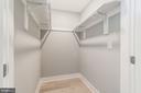 Walk in Closet - 2620 6TH ST NE, WASHINGTON
