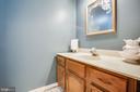 Full bathroom on upper level - 348 OAK TREE LN, STERLING