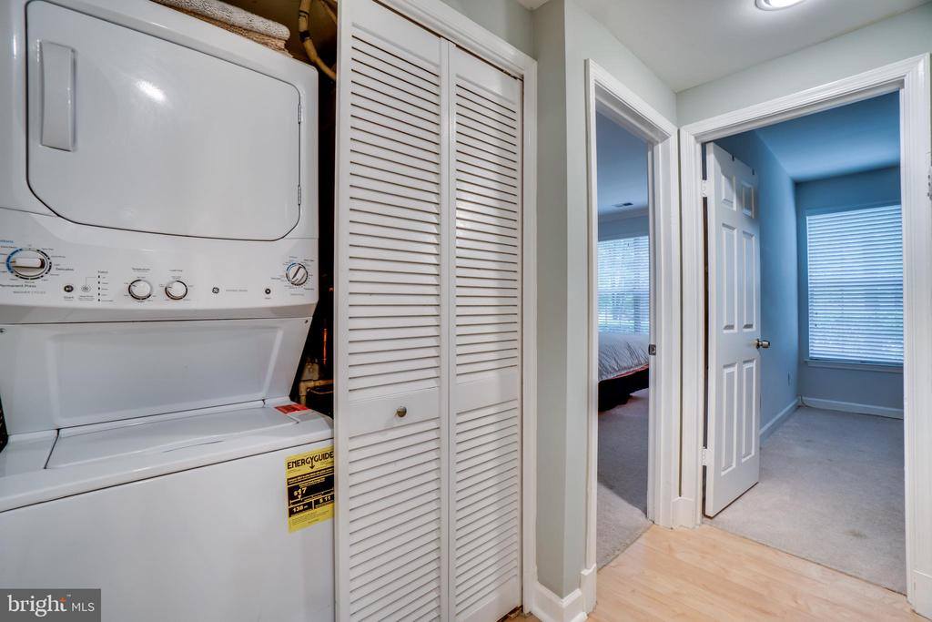 Washer and Dryer in unit - 5916 BARBADOS PL #56, ROCKVILLE