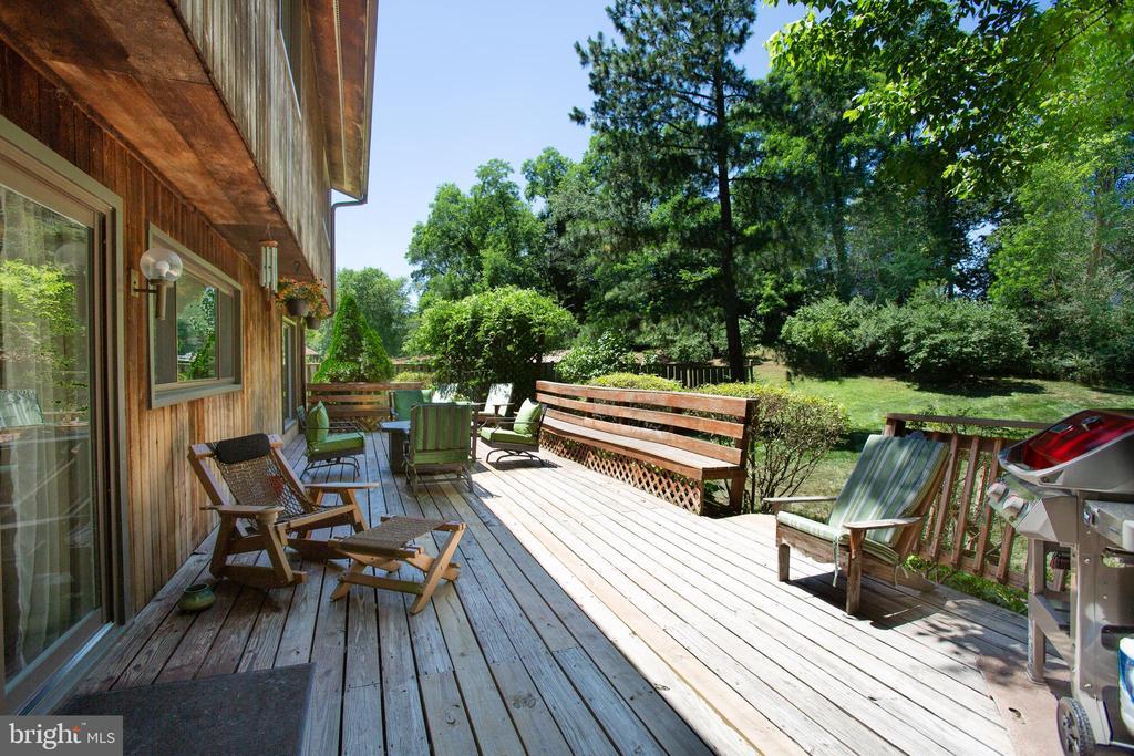 Huge deck for entertaining - 348 OAK TREE LN, STERLING