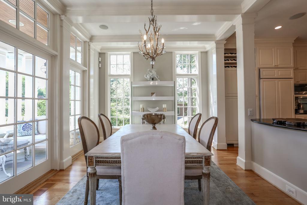 Light Filled Dining Room - 3305 N ALBEMARLE ST, ARLINGTON