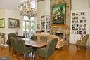 Informal Dining off Kitchen - 20280 GILESWOOD FARM LN, PURCELLVILLE