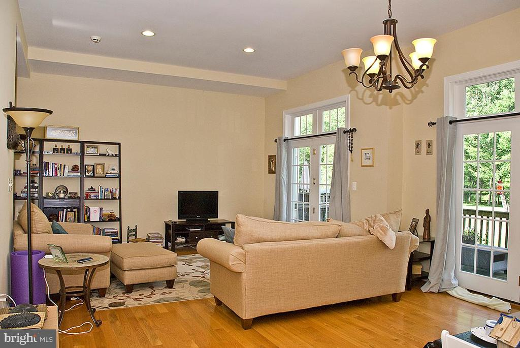 Living Room of adjacent Guest Apartment - 20280 GILESWOOD FARM LN, PURCELLVILLE
