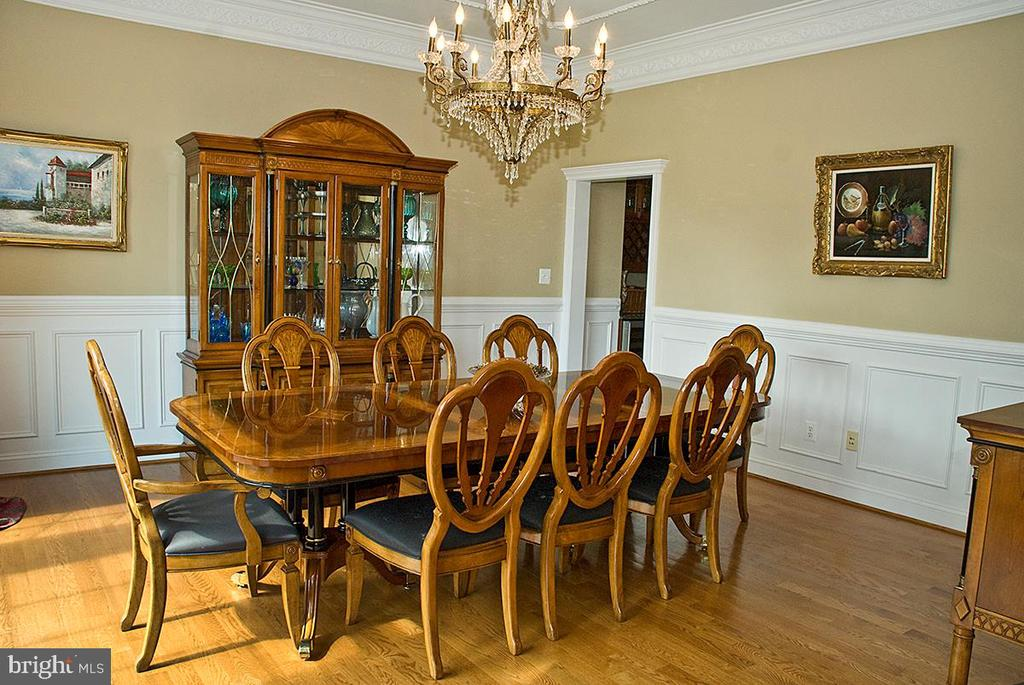 Formal Dining Room - 20280 GILESWOOD FARM LN, PURCELLVILLE