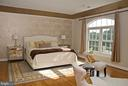 Master Bedroom suite with sitting area~& fireplace - 20280 GILESWOOD FARM LN, PURCELLVILLE