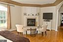 Sitting area of Master Suite - 20280 GILESWOOD FARM LN, PURCELLVILLE