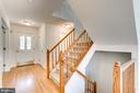Foyer with Hardwood Floors - 2235 AQUIA DR, STAFFORD
