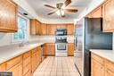 Stainless Steel Appliances in Kitchen - 2235 AQUIA DR, STAFFORD