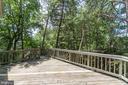 Beautiful Deck Overlooking Backyard - 2235 AQUIA DR, STAFFORD