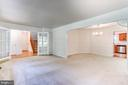 Formal Living Room with French Doors - 2235 AQUIA DR, STAFFORD