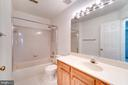 Upstairs Full Bath - 2235 AQUIA DR, STAFFORD