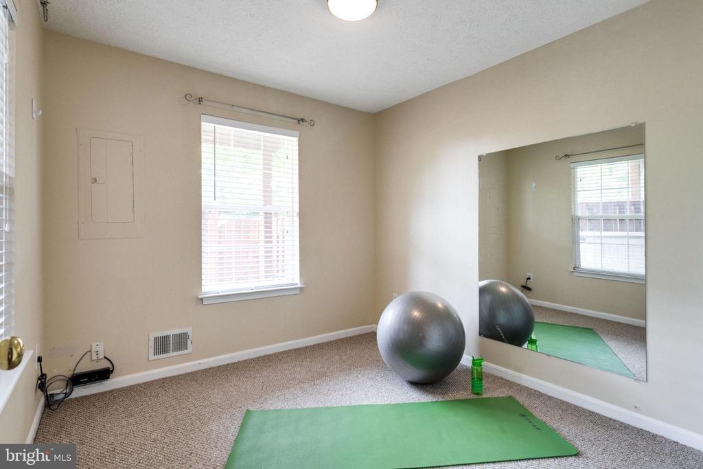 4th Bedroom or Work Out Room - 5185 BALLYCASTLE CIR, ALEXANDRIA