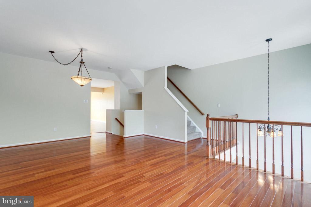 Living Room & Dining Room - 5185 BALLYCASTLE CIR, ALEXANDRIA