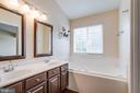 Master Bath w/ Soaking Tub & Double Sinks - 5185 BALLYCASTLE CIR, ALEXANDRIA