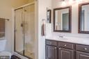 Master Bath w/ Shower - 5185 BALLYCASTLE CIR, ALEXANDRIA