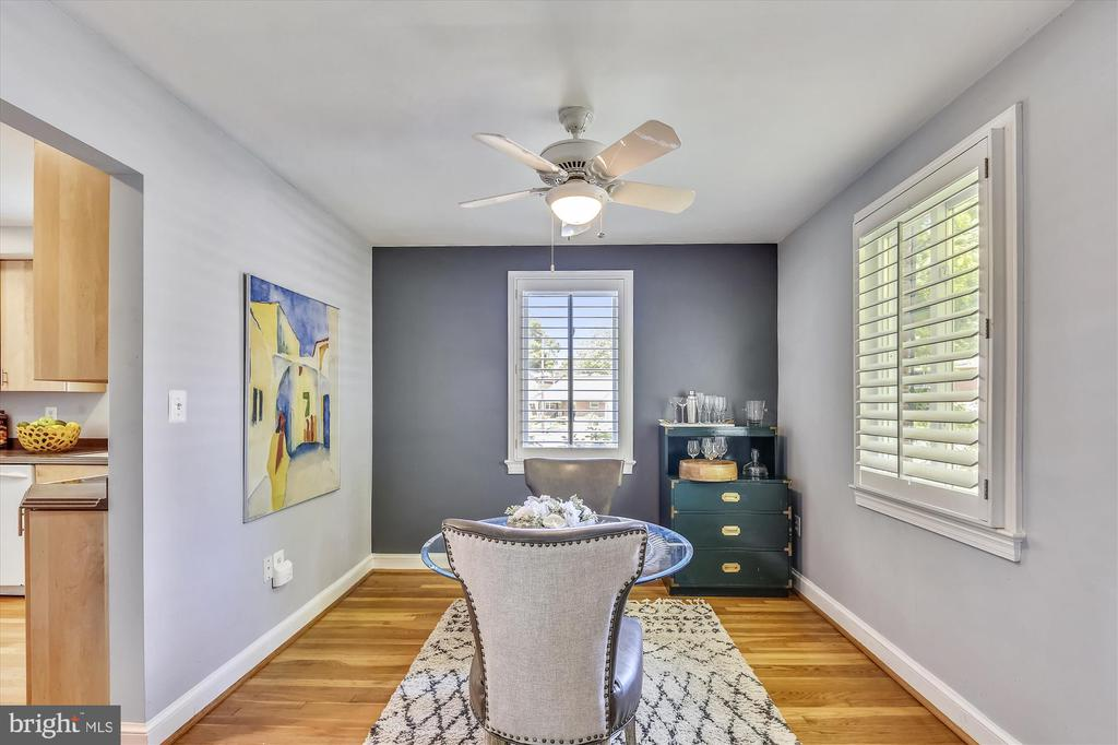 Elegant Dining Room - 398 N EDISON ST, ARLINGTON