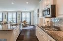Pass through a Butlers Pantry to the Kitchen - 17152 GULLWING DR, DUMFRIES