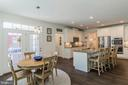Breakfast room is next to the kitchen - 17152 GULLWING DR, DUMFRIES