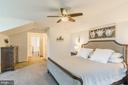 The master bedroom - 17152 GULLWING DR, DUMFRIES