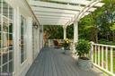 Backyard Deck - 10810 TRADEWIND DR, OAKTON