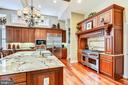 Huge Kitchen Island with sink and dishwasher - 18192 SHINNIECOCK HILLS PL, LEESBURG