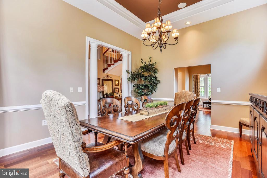 Formal Dining Room - 18192 SHINNIECOCK HILLS PL, LEESBURG