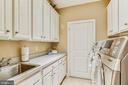 Upper Level Laundry Room - 18192 SHINNIECOCK HILLS PL, LEESBURG