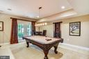 Recreation Room - 18192 SHINNIECOCK HILLS PL, LEESBURG