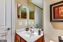 Lower Level Bath - 18192 SHINNIECOCK HILLS PL, LEESBURG