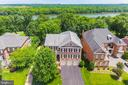 Aerial View - 18192 SHINNIECOCK HILLS PL, LEESBURG