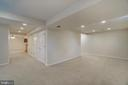 Basement Rec Area - 700 WOODEN BRIDGE DR, PURCELLVILLE