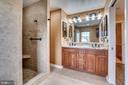 Luxurious Master Bath - 700 WOODEN BRIDGE DR, PURCELLVILLE