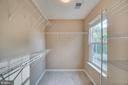 Master Bedroom Walk In Closet - 700 WOODEN BRIDGE DR, PURCELLVILLE