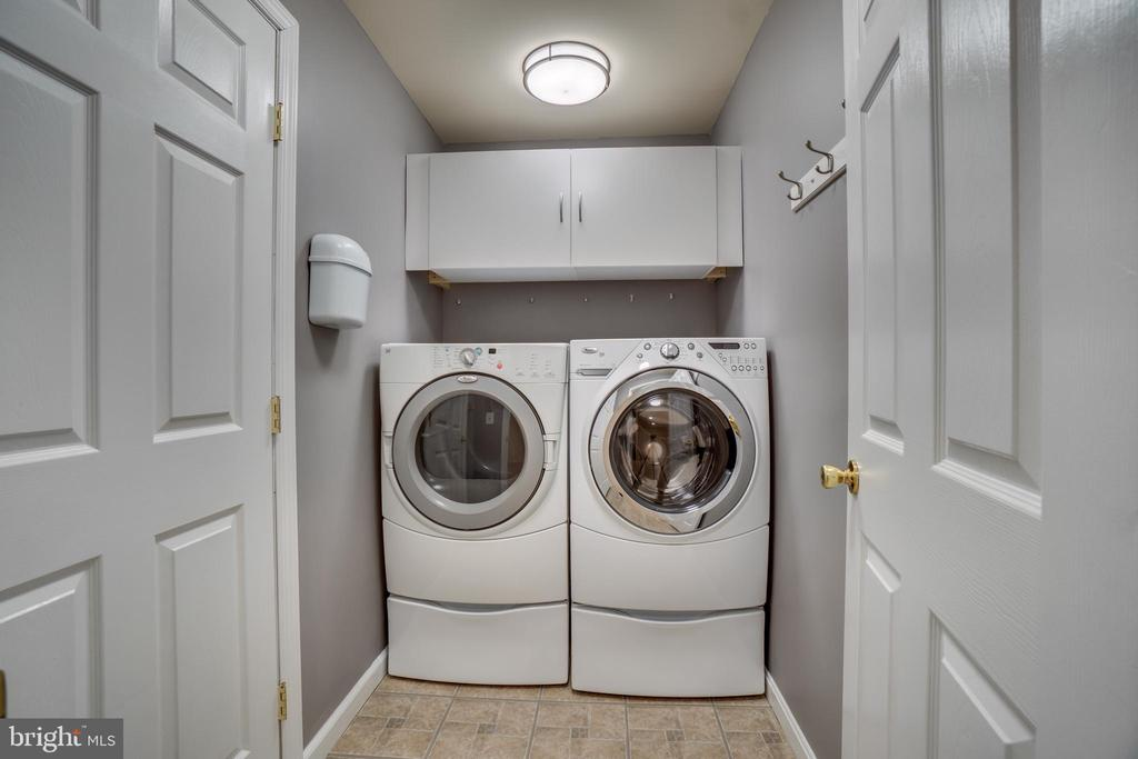 Laundry Room in Basement - 700 WOODEN BRIDGE DR, PURCELLVILLE