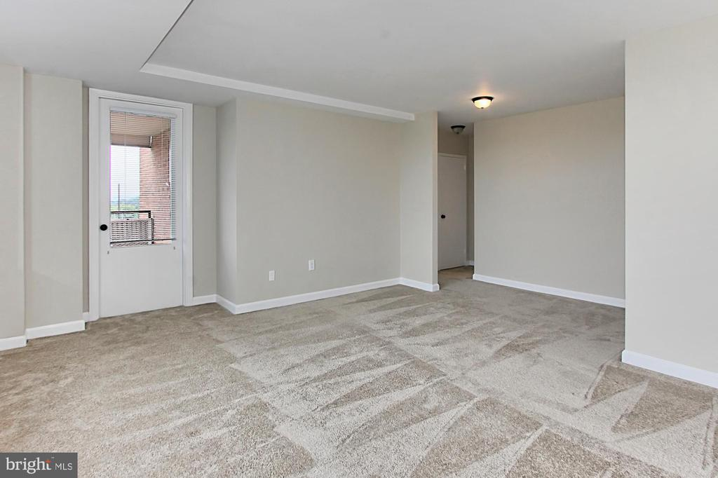 Access to balcony from LR - 1021 ARLINGTON BLVD #419, ARLINGTON