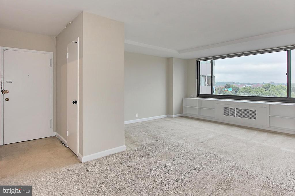 Huge windows flood the unit with light - 1021 ARLINGTON BLVD #419, ARLINGTON