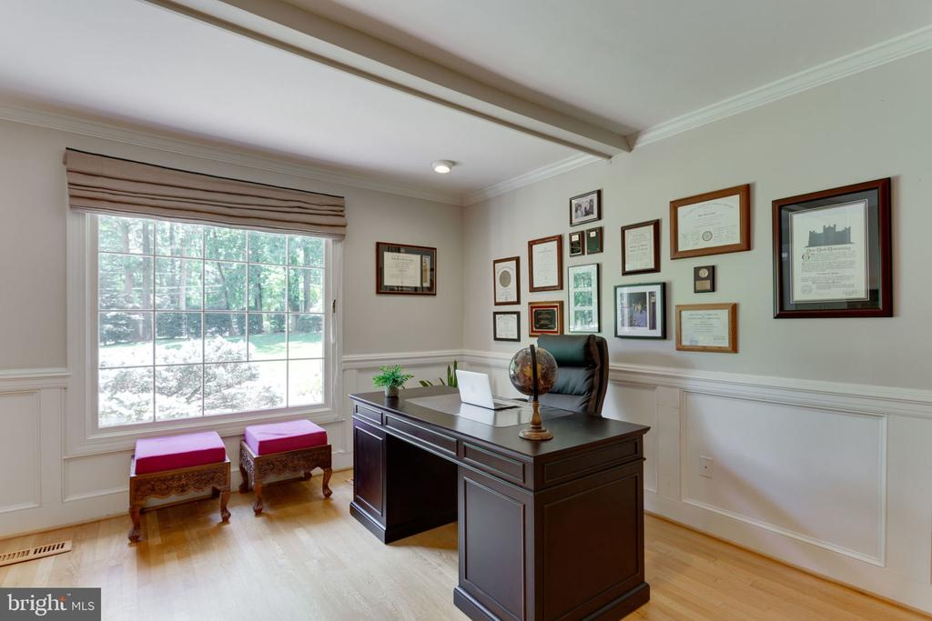 Private and light filled office. - 1044 RECTOR LN, MCLEAN