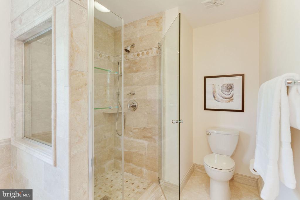 Large shower room in master bathroom - 9815 WINTERCRESS CT, VIENNA