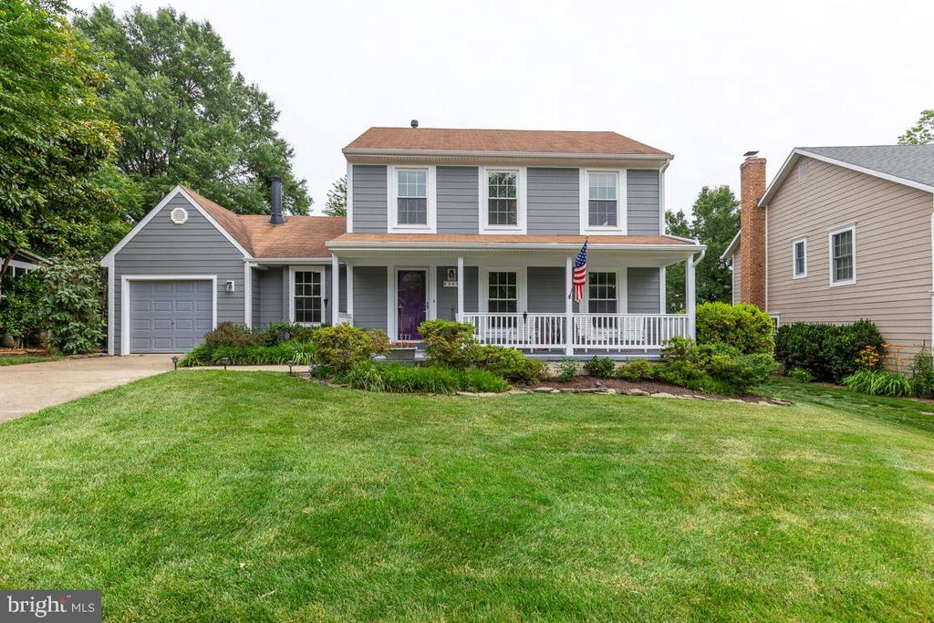 Curb appeal, fantastic interior, & location!!! - 6203 GENTLE LN, ALEXANDRIA