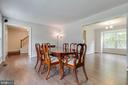 Look at those beautiful floors! - 6203 GENTLE LN, ALEXANDRIA