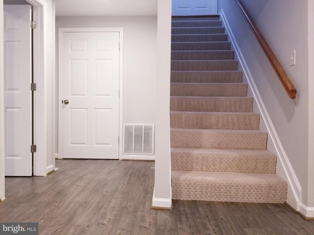 Lower Level Stairs to Main Level - 1005 50TH ST NE, WASHINGTON