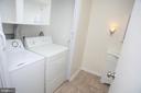 Full-sized washer & dryer - 5818 ROYAL RIDGE DR #Q, SPRINGFIELD