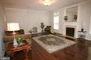 Large family room w/3 ft. extension off kitchen - 47429 RIVER FALLS DR, STERLING
