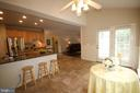 Five bar stools will convey - 47429 RIVER FALLS DR, STERLING