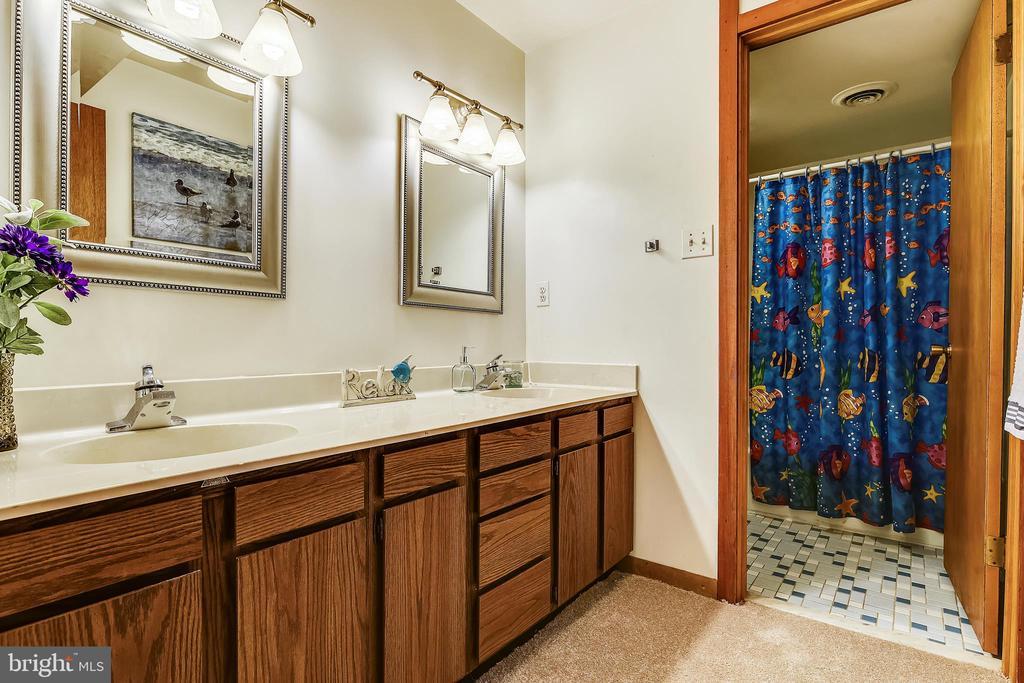 Lower level full bath - 15795 FAWN PL, DUMFRIES