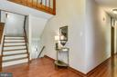 Walk in to beautiful floors and lots of light - 15795 FAWN PL, DUMFRIES