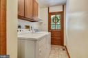 Laundry room conveniently located off the kitchen - 15795 FAWN PL, DUMFRIES