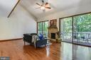 Living room area, so much light and AMAZING view! - 15795 FAWN PL, DUMFRIES