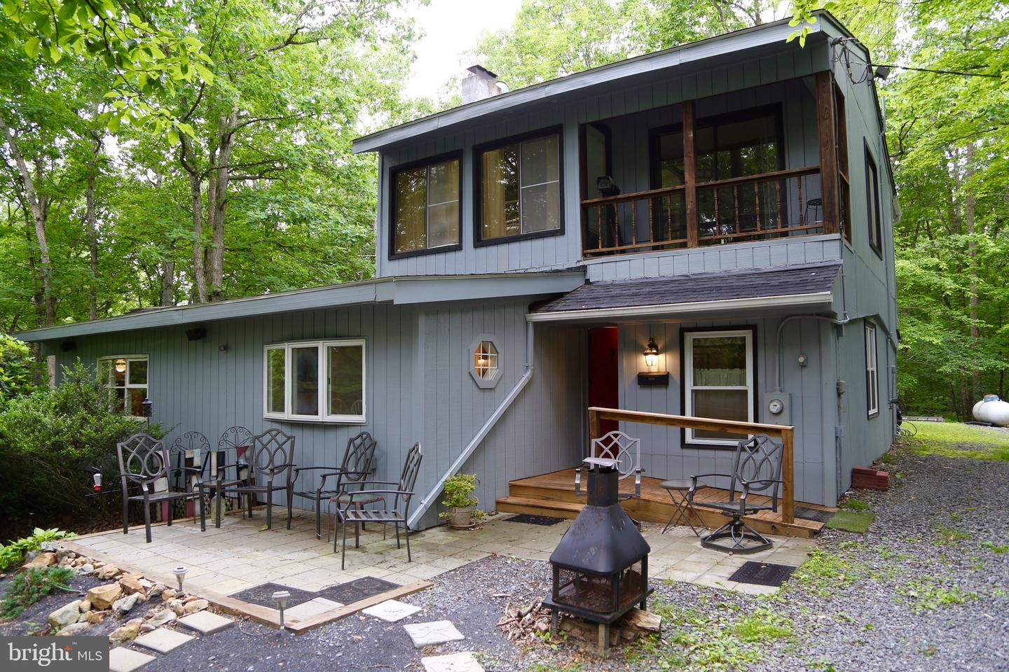 Single Family for Sale at 414 Warden Lake Hollow S-D Wardensville, West Virginia 26851 United States